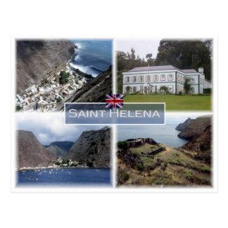 SH Saint  Helena - Postcard