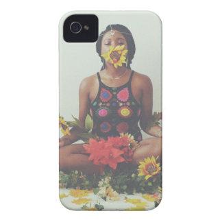 Sha Davis Meditation floral design iPhone 4 Case