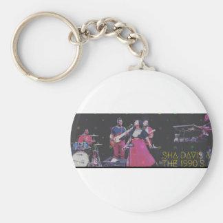 Sha Davis & The 1990's Key Ring