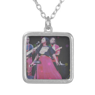 Sha Davis & The 1990's Silver Plated Necklace