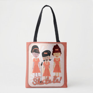 Sha La La Girl Group Cartoon Tote Bag