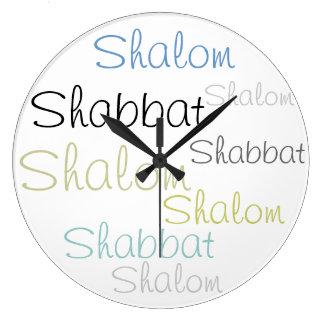 Shabbat Shalom - Clock