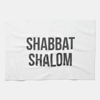 Shabbat Shalom Kitchen Towel