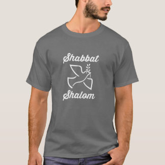 Shabbat Shalom Peace Dove Messianic T-Shirt