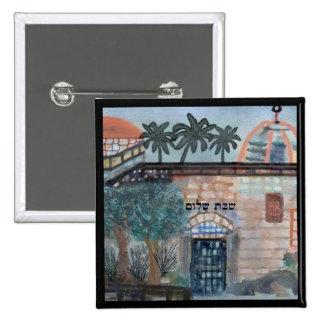 Shabbat Shalom Pin