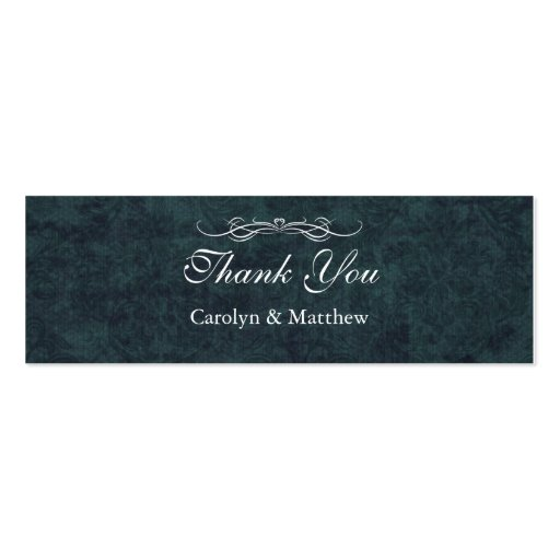 Shabby Chic Blue Vintage Wedding Business Card Business Cards