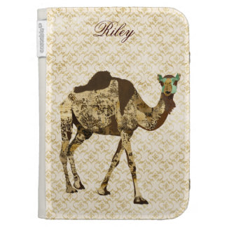 Shabby Chic Camel  Case Cases For Kindle