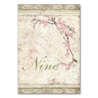 shabby chic cherry Blossom Country wedding Card