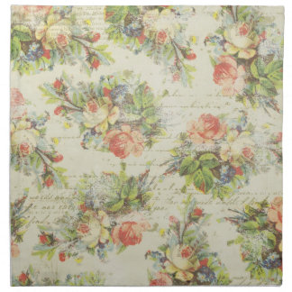 Shabby Chic Floral Napkins