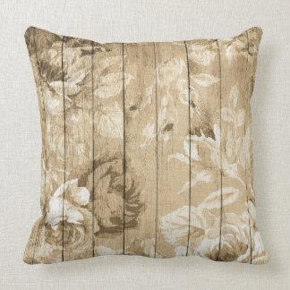 Shabby Chic Flower Pillow