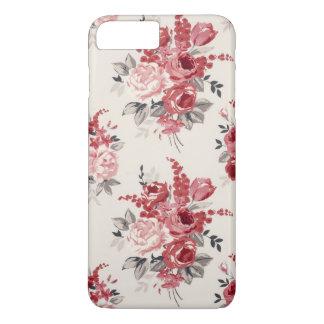 Shabby Chic Flower Vintage Rose Iphone Samsung iPhone 8 Plus/7 Plus Case