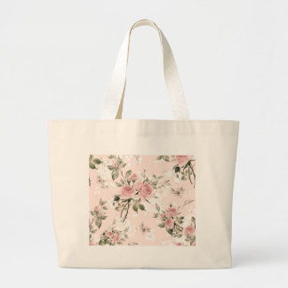 Shabby chic, french chic, vintage,floral,rustic, large tote bag