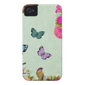 Shabby chic, french chic, vintage,floral,rustic,mi iPhone 4 Case-Mate case