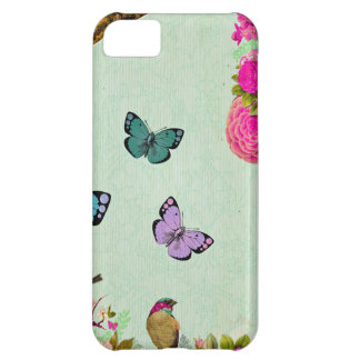Shabby chic, french chic, vintage,floral,rustic,mi iPhone 5C case