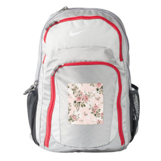 Shabby chic, french chic, vintage,floral,rustic,pi backpack