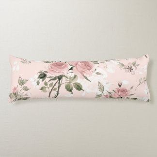 Shabby chic, french chic, vintage,floral,rustic,pi body cushion
