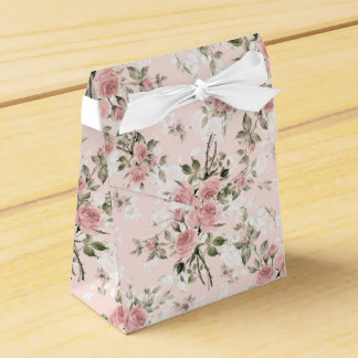 Shabby chic, french chic, vintage,floral,rustic,pi favour box