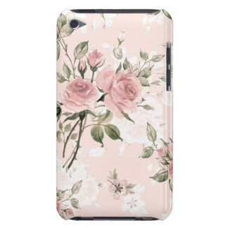 Shabby chic, french chic, vintage,floral,rustic,pi iPod touch case