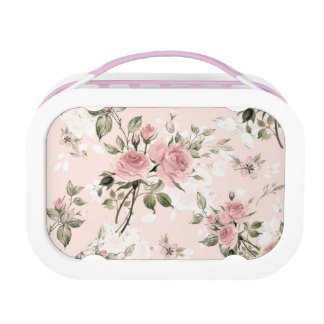 Shabby chic, french chic, vintage,floral,rustic,pi lunch box