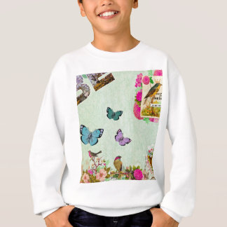 Shabby chic, french chic, vintage,floral,rustic, sweatshirt