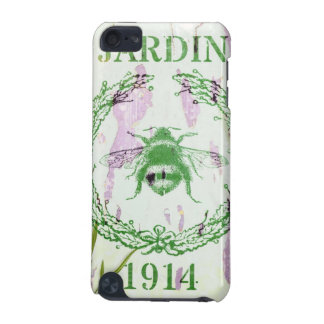 shabby chic french country lavender vintage bee iPod touch (5th generation) case