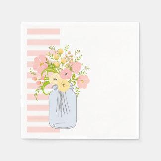Shabby Chic Garden Delight Paper Napkin