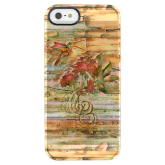 Shabby Chic Hummingbird Flight Clear iPhone SE/5/5s Case