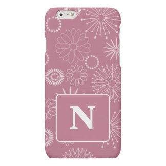 Shabby Chic iPhone 6/6s Case Custom Initial