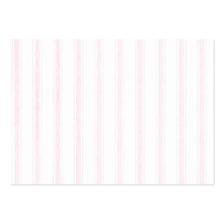 Shabby Chic Pink White Stripes Business Cards