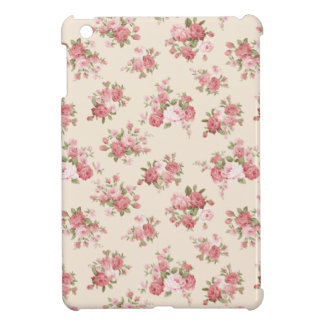 Shabby chic rose iPad mini cases