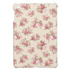 Shabby chic rose iPad mini cover