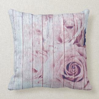 Shabby Chic Soft Rose Pillow