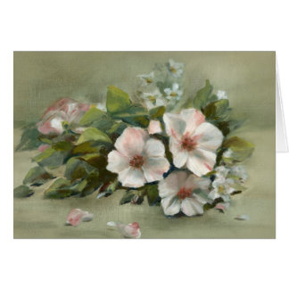 Shabby Chic style Roses Card