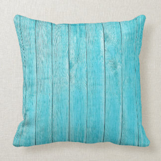 Shabby Chic Turquoise Pillow