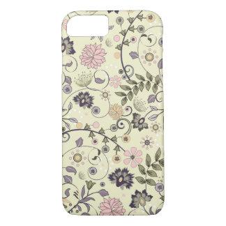 Shabby Chic Vintage Flower Rose Girls iPhone 8/7 Case