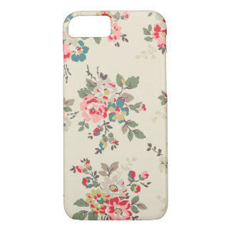 Shabby Chic Vintage Flower Roses Floral Pattern iPhone 8/7 Case