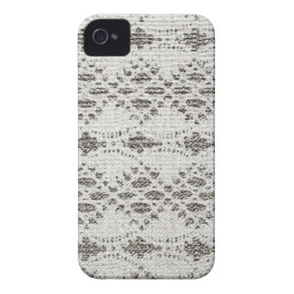 Shabby Chic Vintage Lace Designs iPhone 4 Case