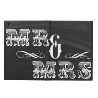 shabby chic vintage typography mr and mrs