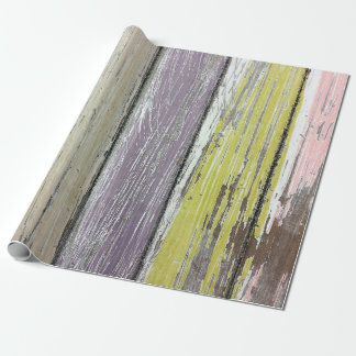 Shabby Chic Wood Wrapping Paper