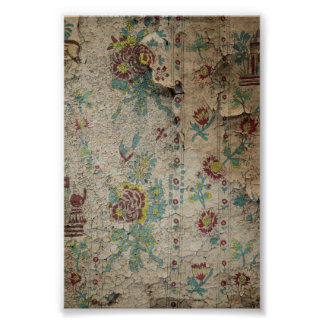 Shabby Cottage Grunge Wallpaper Posters