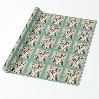 Shabby Dogs Birthday Wrapping Paper