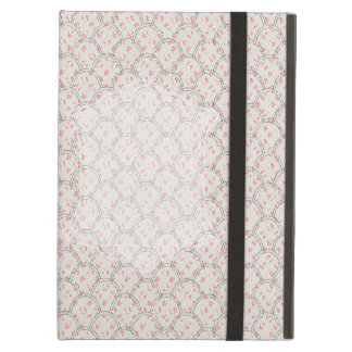 Shabby Floral Glitter Design iPad Air Cases