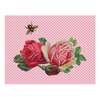 Shabby Roses Postcards