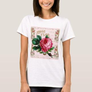 SHABBYCHIC English Rose vintage pink T-Shirt