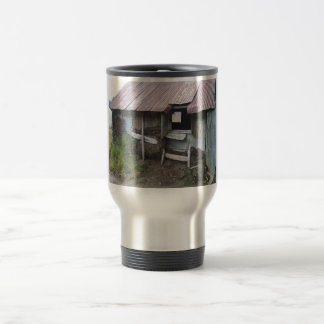 Shack In Alsaka With Sod Insulation Travel Mug