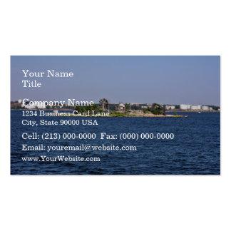Shack island business card