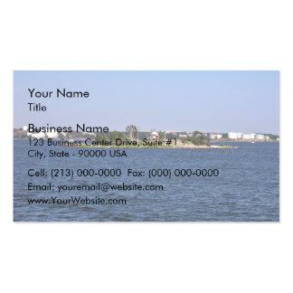 Shack island business card template