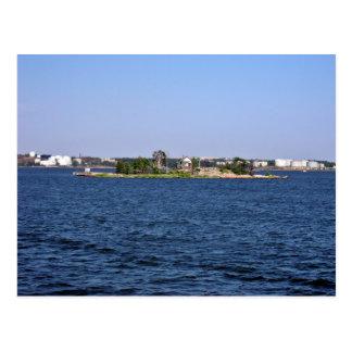 Shack island post card