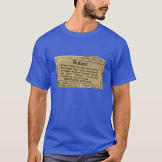 Shackelton Robotics - Workers Wanted T-Shirt