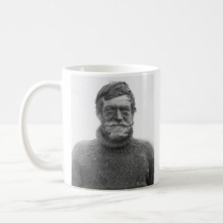 Shackleton mug - picture and quote